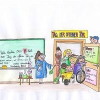 Bild zum Weblog Schule mal anders - Tag der offenen Tür